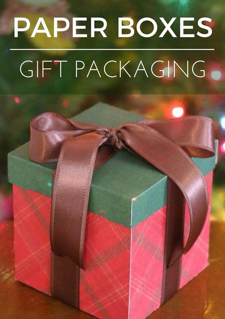 Paper Boxes and Gift Packaging