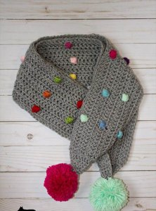 12 Crochet Dreaming Scarf Tutorials