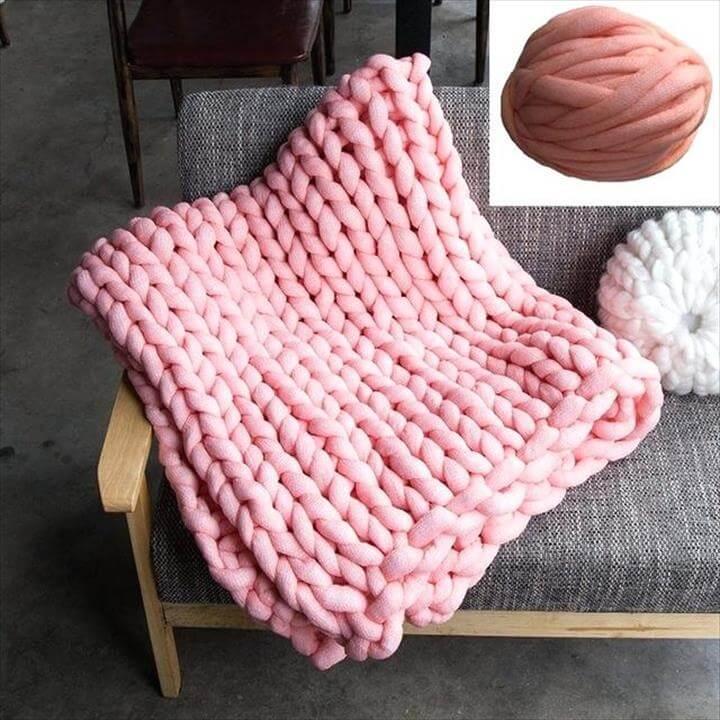 super chunky knit blanket super chunky yarn bulky yarn for arm knitting blanket merino wool yarn