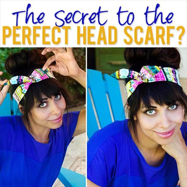 Head Scarf tutorial