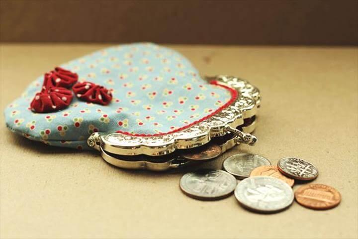 Vintage Coin Purse Tutorial & Pattern