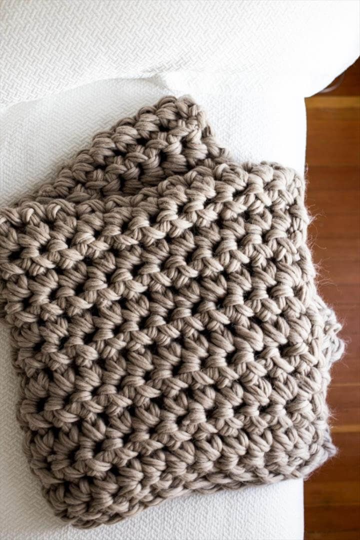 Gorgeous Hand Crochet Blanket