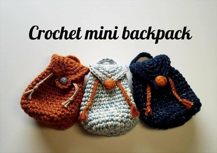 Crochet backpack pattern ideas
