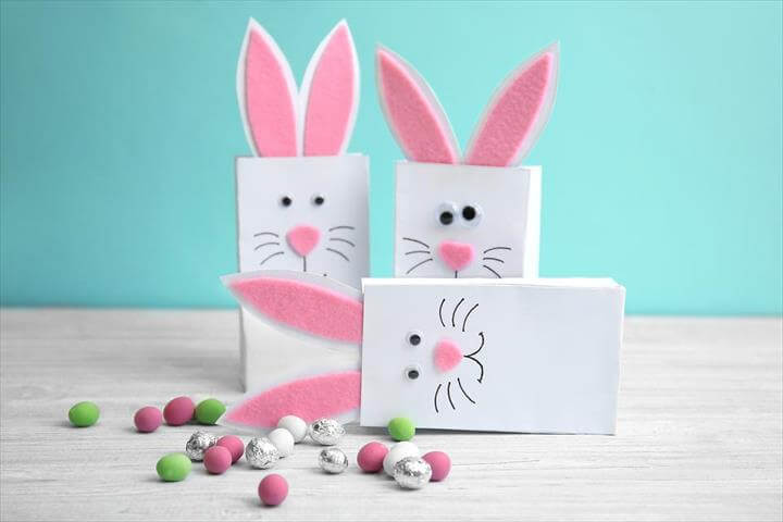 DIY Easter Bunny Bags: Hop Right to It & Make Them With Your Kids!