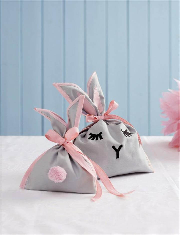 DIY Easter Bunny Bag for Goodies