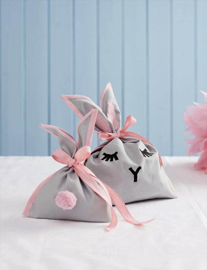 DIY Easter Bunny Bag for Goodies