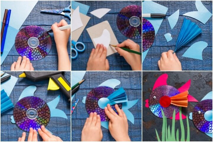CD Fish, KID'S CRAFT