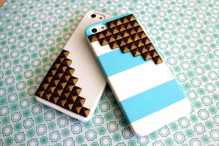 Cell Phone Cover Diy With Studded Cases