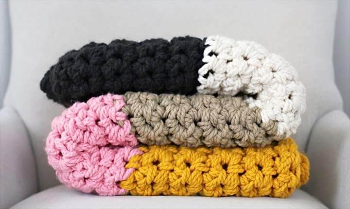Crochet a Chunky Blanket