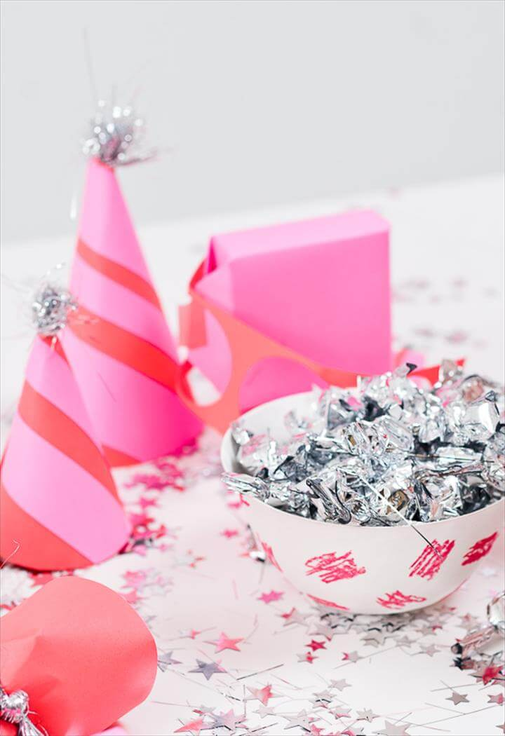 (Colorful) DIY Party Ideas for New Year's Eve