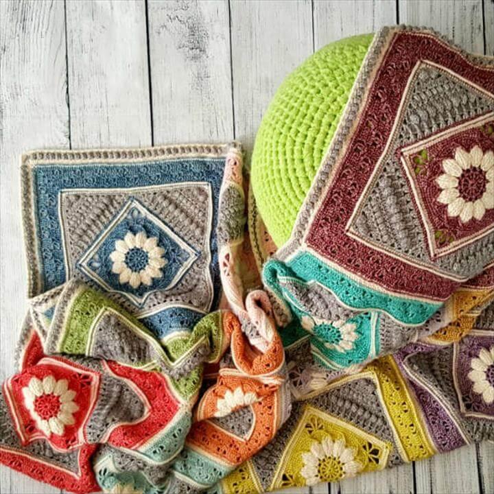 Dream Crochet Blanket, Awesome Crochet Blanket Ideas You Can Easily DIY, Easy Crochet Squares