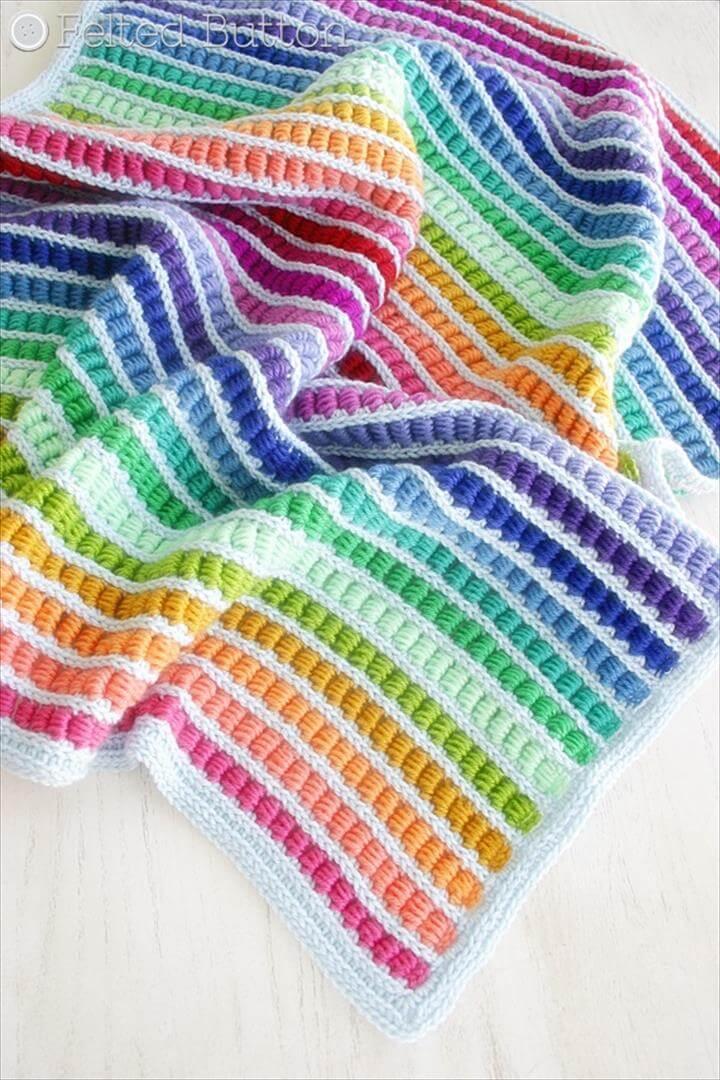 Abacus Blanket crochet pattern
