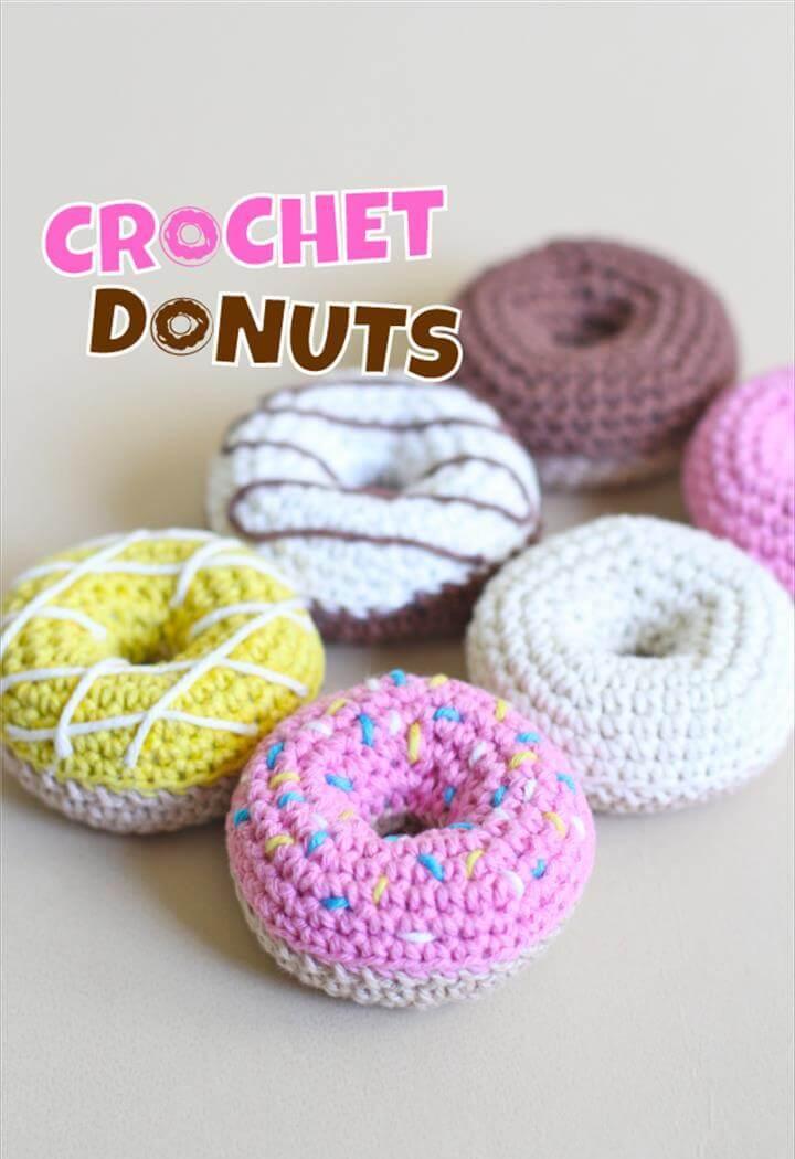 Crochet Donuts [Free Pattern]