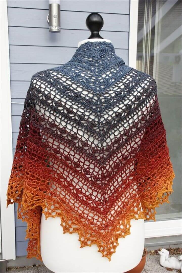 diy fashion, fashion raft, crochet fashion, diy shawl, crochet shawl