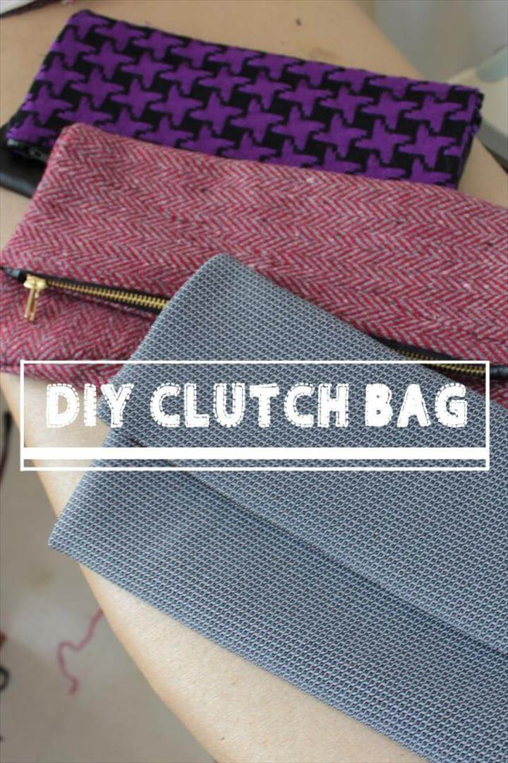 diy clutch bag | nice finish to the seams inside is creative inspiration for us. Get more photo about related with by looking at photos …