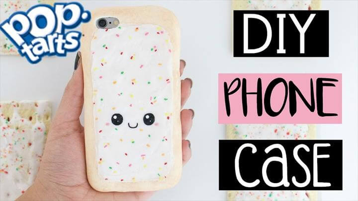 DIY POP-TART PHONE CASE From Scratch!