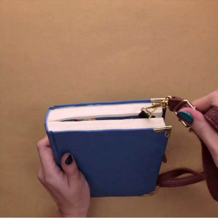 DIY Book Clutch | DIY Projects