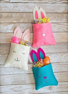 15 DIY Bunny Bags Pattern For Kid's