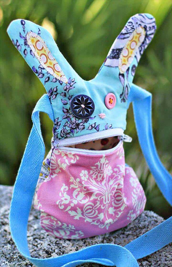 DIY Bunny Purse