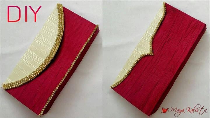 DIY Clutch Bag: Color Blocked Clutch
