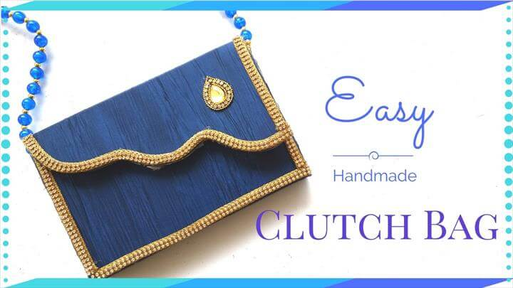 DIY Clutch Bag Tutorial - New Cardboard Clutch Bag