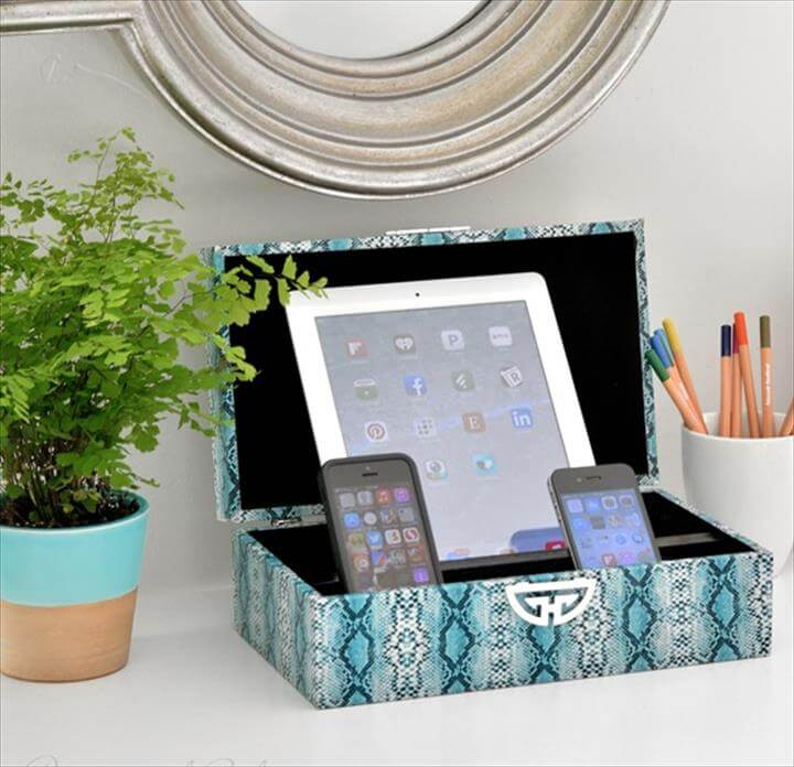 Decorative Box Charging Station