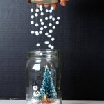 DIY snow globe - Fun Crafts Kids