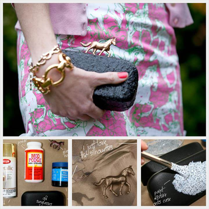Minaudiere with Golden Horse DIY
