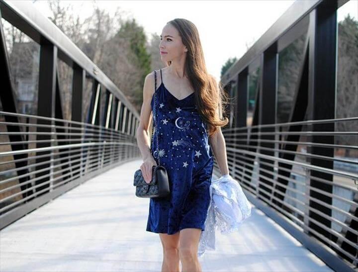 DIY: Embroidered NYE Dress