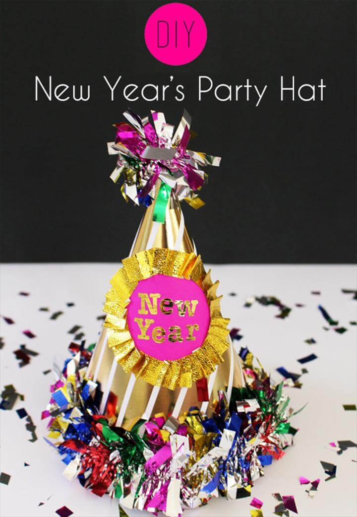 DIY: New Year's Party Hat