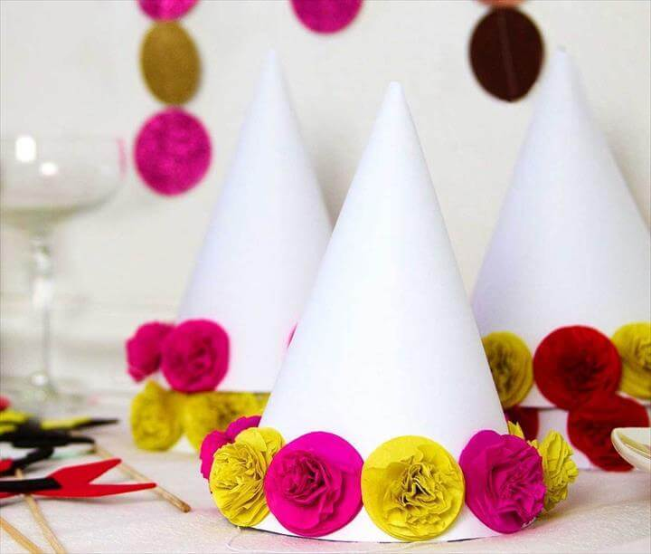 NYE Party Ideas: Party Hats