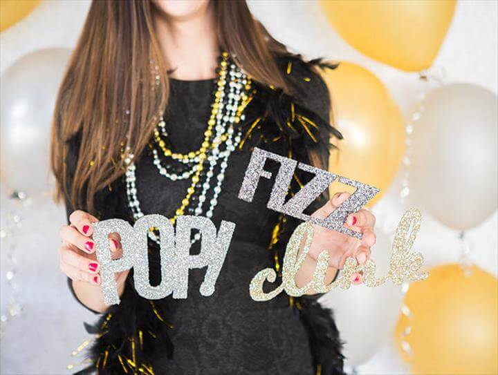 DIY New Years Eve Party & Wedding Ideas