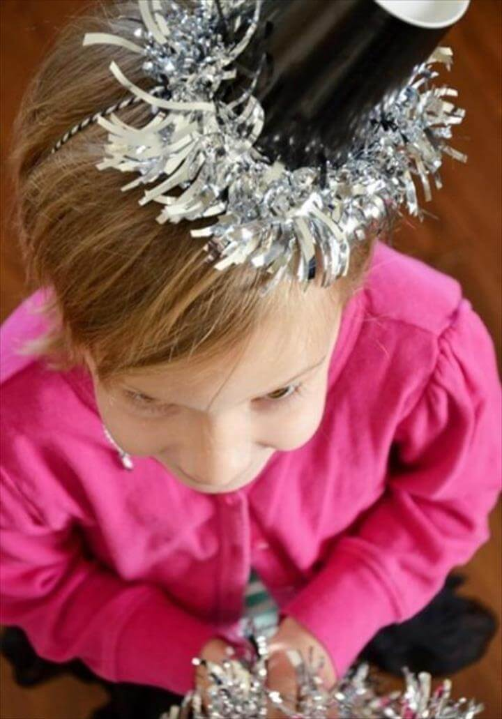 Fun and Easy DIY New Year's Eve Party Ideas, Party Hats
