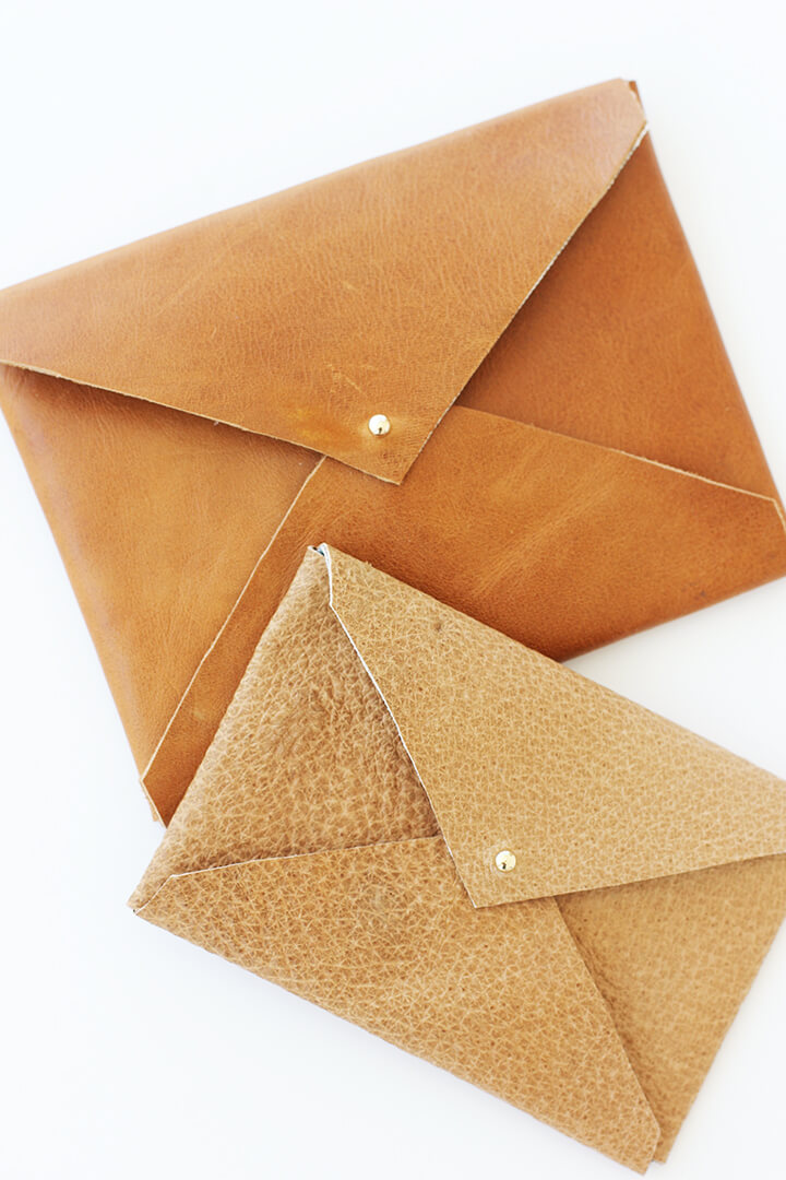 Alice and LoisDIY Leather Envelope
