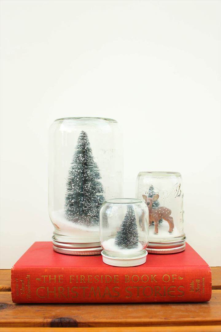 DIY Snow Globe Tutorial