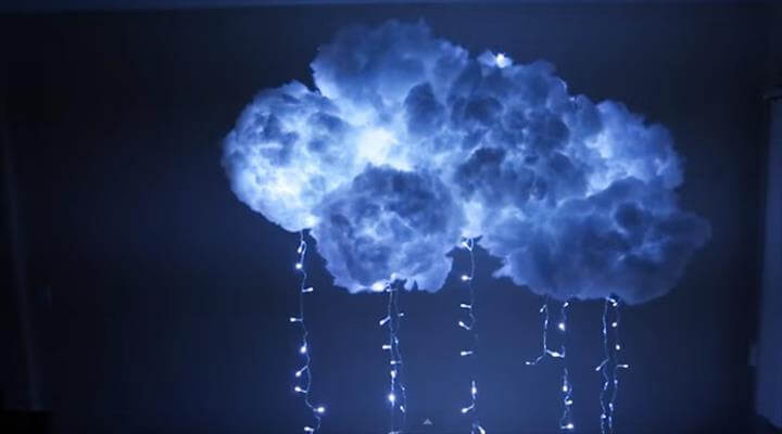 Summer DIY crafts for teens: Cloud Light from DIY Projects For Teens