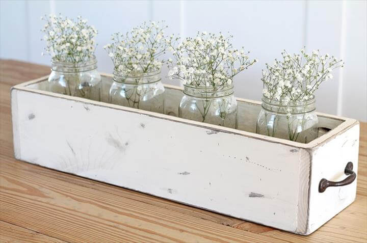 centerpiece, home decor, wooden centerpiece