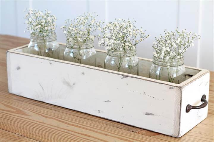 centerpiece, home decor, wooden centerpiece