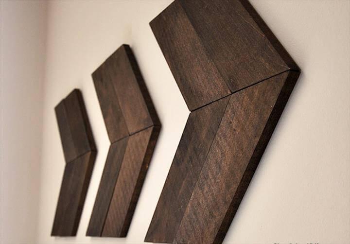 DIY Wood Arrows, wall art