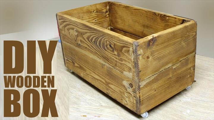 DIY Wooden Box - Pallet Wood Project