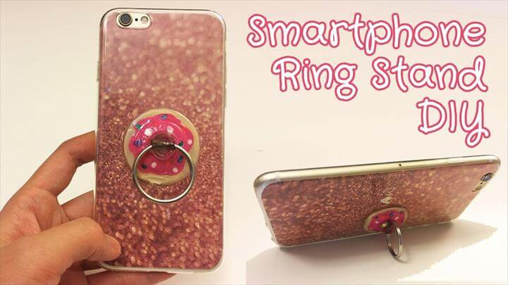 Easy Popsocket, Ring Stand DIY - Cell Phone Accessory DIY, Sunny DIY