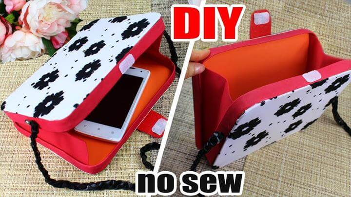 DIY Projects. How to make a Clutch Bag with Tumblr or Instagram Photos Pattern. This tumblr inspired DIY project is perfect