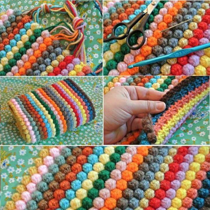 Bobble Crochet Blanket