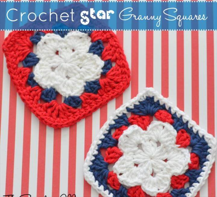 Free Patriotic Crochet Projects - Find some patriotic crochet inspiration with these fun projects to