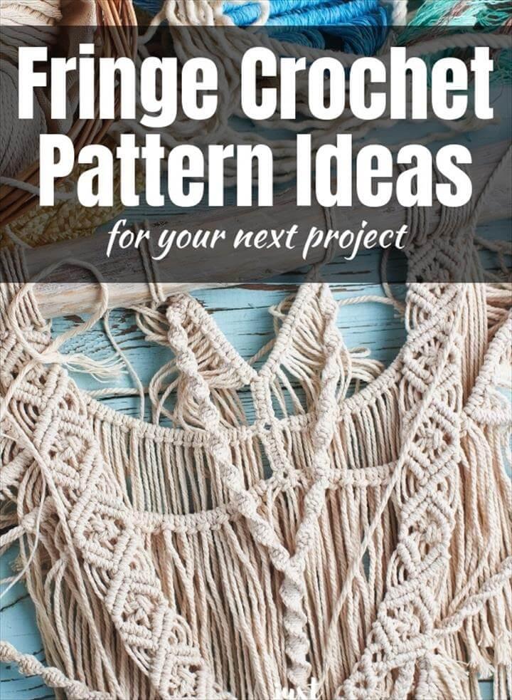 Crafty Fringe Crochet Pattern Ideas