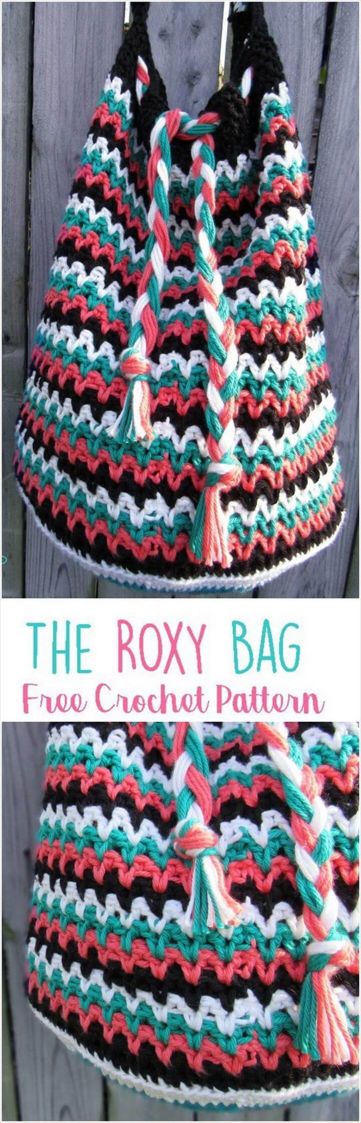 Crochet Roxy Bag