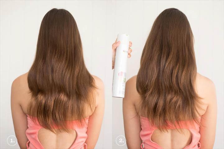 NYE Hair DIY, hair style, new year hairs