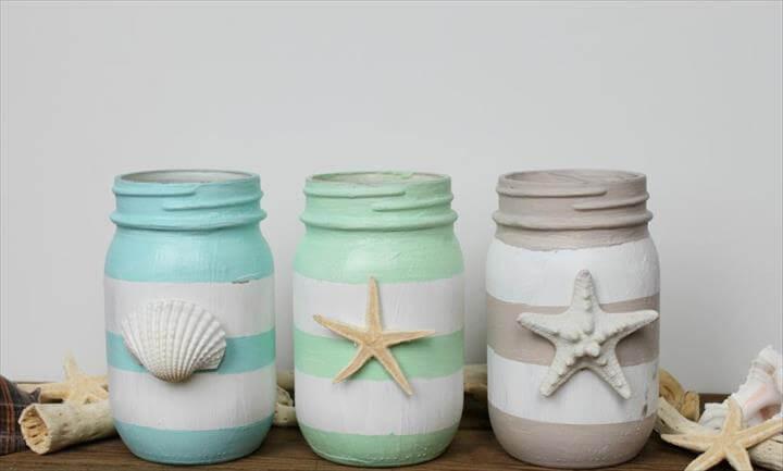 Craftista Spring Inspired Mason Jars Editorial Tori Spelling