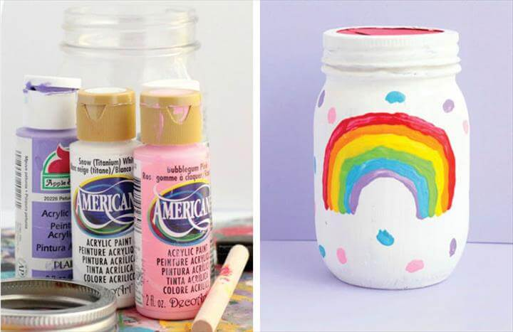 DIY Piggy Bank. mason jar ...