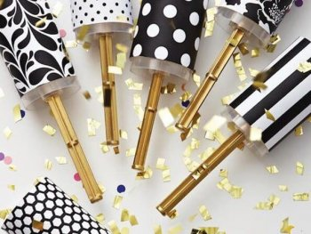 View in gallery New Year's Eve confetti poppers